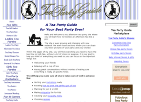 tea-party-guide.com
