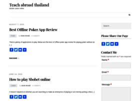 teachabroadthailand.com