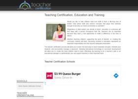 teachercertification.org