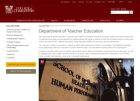 teachered.cofc.edu