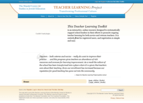 teacherlearningproject.com