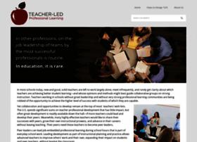 teacherledprofessionallearning.org