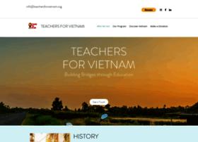 teachersforvietnam.org
