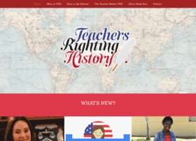 teachersrightinghistory.org