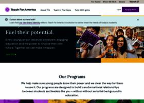 teachforamerica.org
