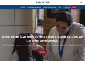 teachforbelgium.org