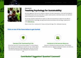teachgreenpsych.com