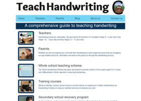 teachhandwriting.co.uk