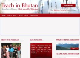 teachinbhutan.org