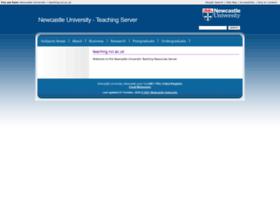 teaching.ncl.ac.uk