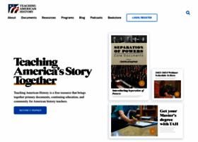 teachingamericanhistory.org