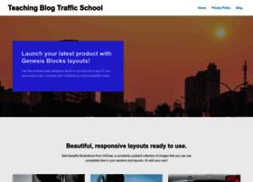 teachingblogtrafficschool.com