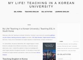 teachinginkoreanuniversity.com
