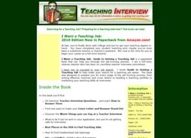 teachinginterview.com