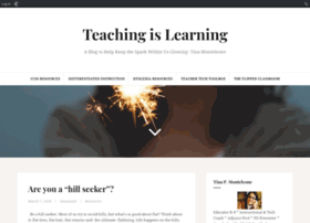 teachingislearning.edublogs.org