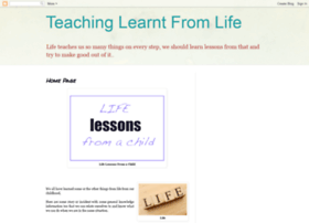teachinglearntfromlife.blogspot.in
