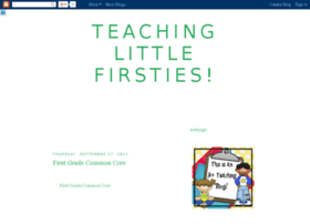 teachinglittlefirsties.blogspot.com