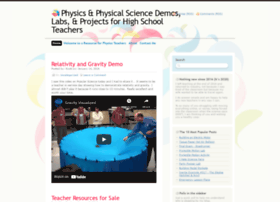 teachingphysics.wordpress.com