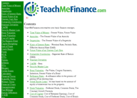 teachmefinance.com