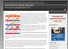 teachmetospeakspanish.info