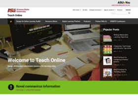 teachonline.asu.edu