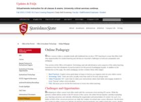 teachonline.csustan.edu