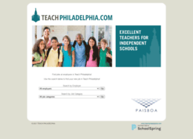 teachphilly.schoolspring.com