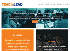 teachtolead.org