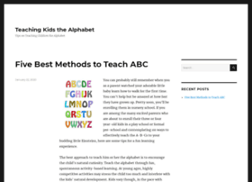 teachyourchildthealphabet.com