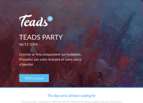 teadsparty.splashthat.com