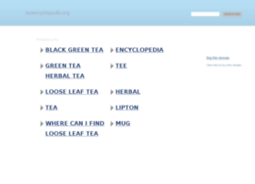 teaencyclopedia.org