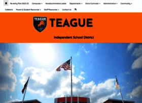 teagueisd.org