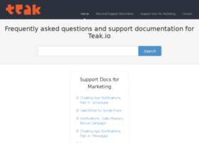 teak.helpscoutdocs.com
