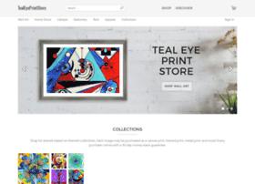 tealeye.artistwebsites.com