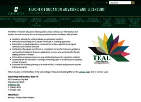 tealr.uncc.edu
