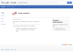 team-random.googlecode.com