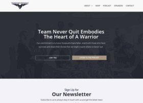teamneverquit.com