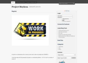 teamprojectmayhem.com