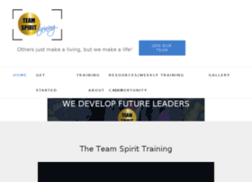 teamspirittraining.com