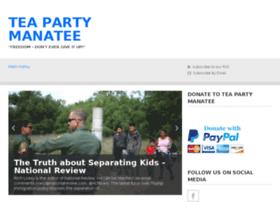 teapartymanatee.com