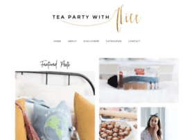 teapartywithalice.com