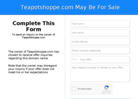 teapotshoppe.com