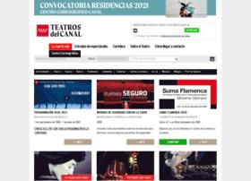 teatroscanal.com