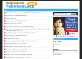 Tebak Tebakan Lucu Websites And Posts