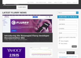 tech.flurry.com