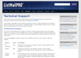 tech.listmailpro.com