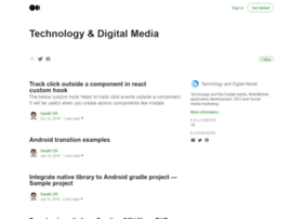 tech.sarathdr.com