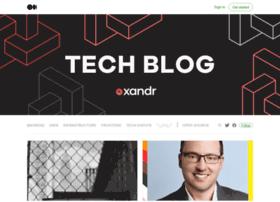 techblog.appnexus.com
