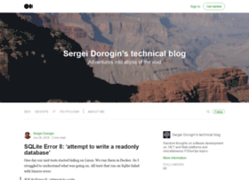 techblog.dorogin.com