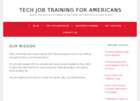 techjobtrainingforamericans.com